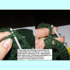 Вязание мотивов без отрыва нити